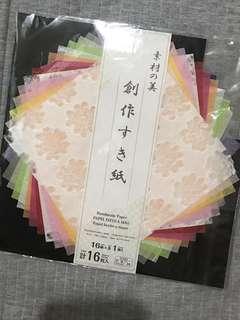 日本手作和紙 🌟共28張