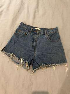 Kookai Denim Shorts