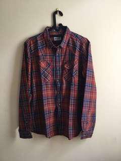 Wrangler Flannel Shirt (Kemeja Flanel)