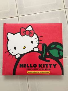 hello kitty sweet happy fun book