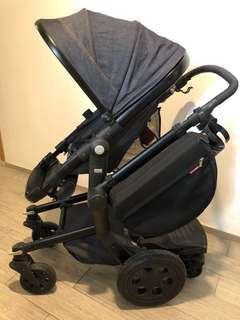 Baby Stroller (Buggy with Back Stand)