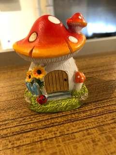 小精靈仿真蘑菇小屋