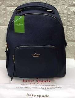 Authentic quality kate Spade Leather Backpack
