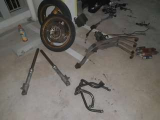 CB400SF Spec 1 parts for sale
