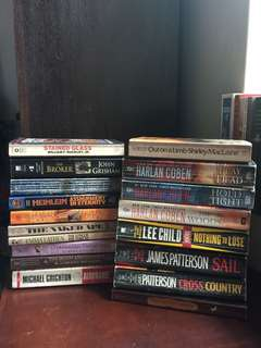 TAKE ALL: 18 books for P600
