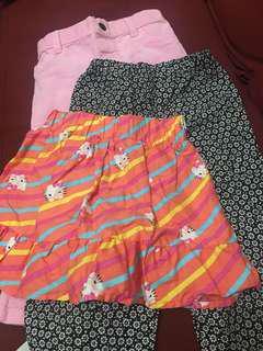 Kids Pants and Skirt - BUNDLE