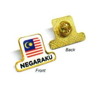 Badge Negaraku - Gold (MSIA-1056)