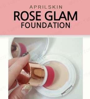 April Skin Rose Glam Foundation
