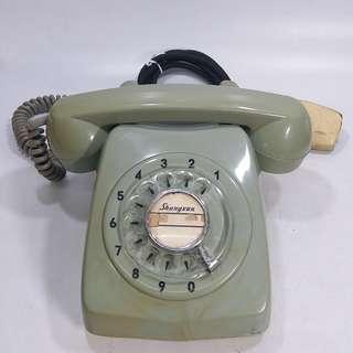 懷舊  中國上海  攪盤電話(包好壞!合懷舊擺設/拍戲道具)