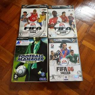FIFA And Football Manager Games