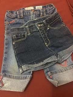 Kids Maong Pants and Shorts - BUNDLE