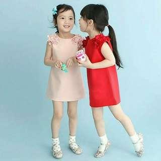 DRESS ANAK CEWEK untuk usia 2 - 7 Tahun bahan import ,,, Baju anak cewek ,,, kaos anak cewek ,,, Baju tidur ,,, stroller ,,, micro trike