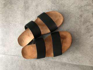 ASOS Leather Sandals UK3