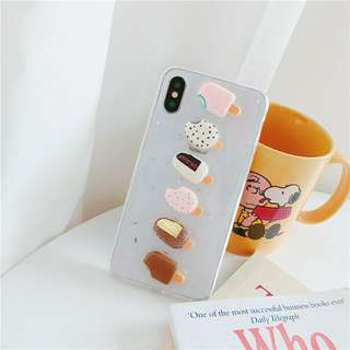 3D ice cream case