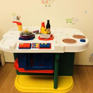 Just Like Home play kitchen Partial set