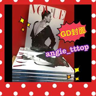 GD封面 VOGUE KOREA (G-dragon) BIGBANG
