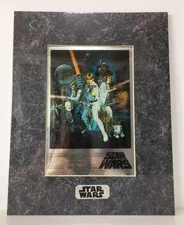 Star Wars ChromArt Print
