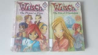 Witch Books Series The Power of Five and The Fire of Friendship
