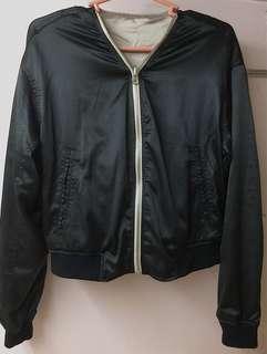For Sale Reversible Jacket Black & Creamy Brown