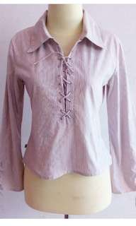 Blouse Striped Simplicity