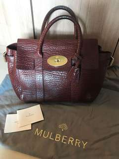 Authentic Mulberry Small Bayswater Buckle