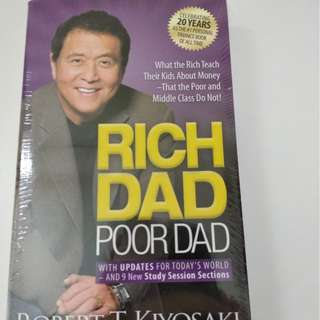 MUST READ ●Rich Dad Poor Dad● by Robert Kiyosaki