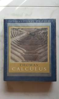 Thomas Calculus ( Free Delivery to MRT Station)