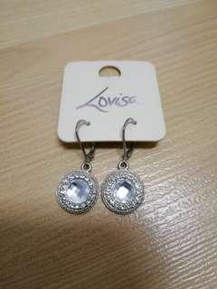 LOVISA Diamante Rhinestone Earrings