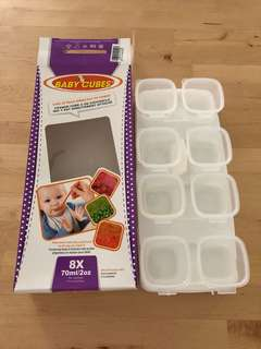 Baby Cubes 8x 70ml containers