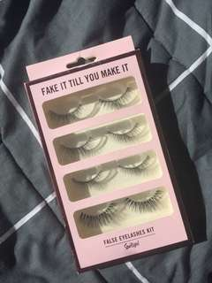 🍑 False eyelashes Kit