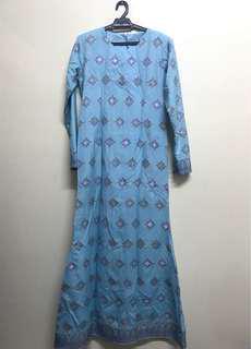 Jubah/Dress Songket
