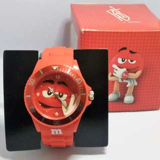 M&M's Collectible Watch - Red