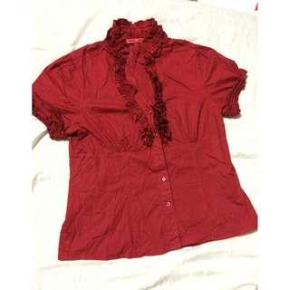 Kamiseta Ruffled blouse