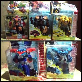 TRANSFORMERS SET ROBOT DISGUISE