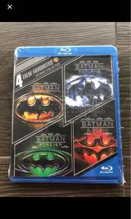 Blu-ray - 4 BATMAN collection movies