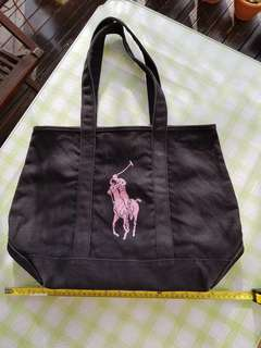 1pc Preowned Pink Pony Tote Bag For Sale