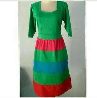 Dress Wedges Hijau