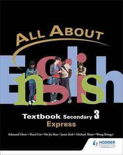 all about English textbooks for sec3