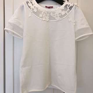 Brand new Vivienne Tam white top
