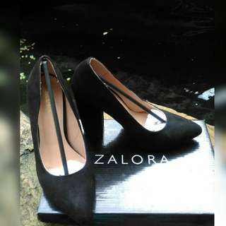 Zalora Block Heel Pumps