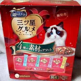 【日本三星超讚貓飼料】