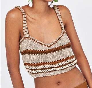 🚚 歐美夏日風情針織上衣