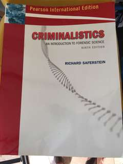 Criminalistics - Introduction to Forensic Science