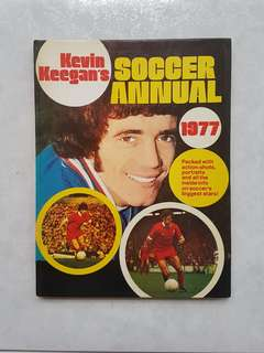 Liverpool Kevin Keegan's Soccer Annual 1977 Hardcover