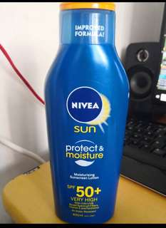 Nivea sunscreen lotion SPF50+