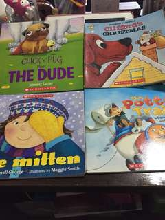 Scholastic books for kindergarten