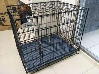 🚚 九成新 狗籠 60*43*52 中型犬 小型犬 適用