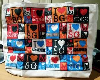 I ❤️ Singapore Eco Bag