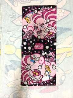 Disney Alice Cat 愛麗絲貓長毛巾(Brand new 全新)