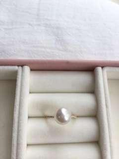 *特價* 日本Akoya天然海水珍珠 18k金
